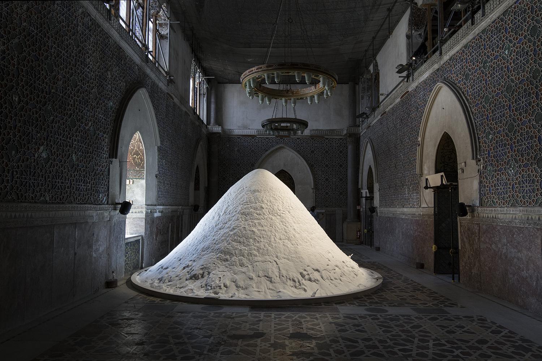Patricia Kaersenhout, The Soul of Salt. Manifesta 12. Foto © I DO ART Agency.
