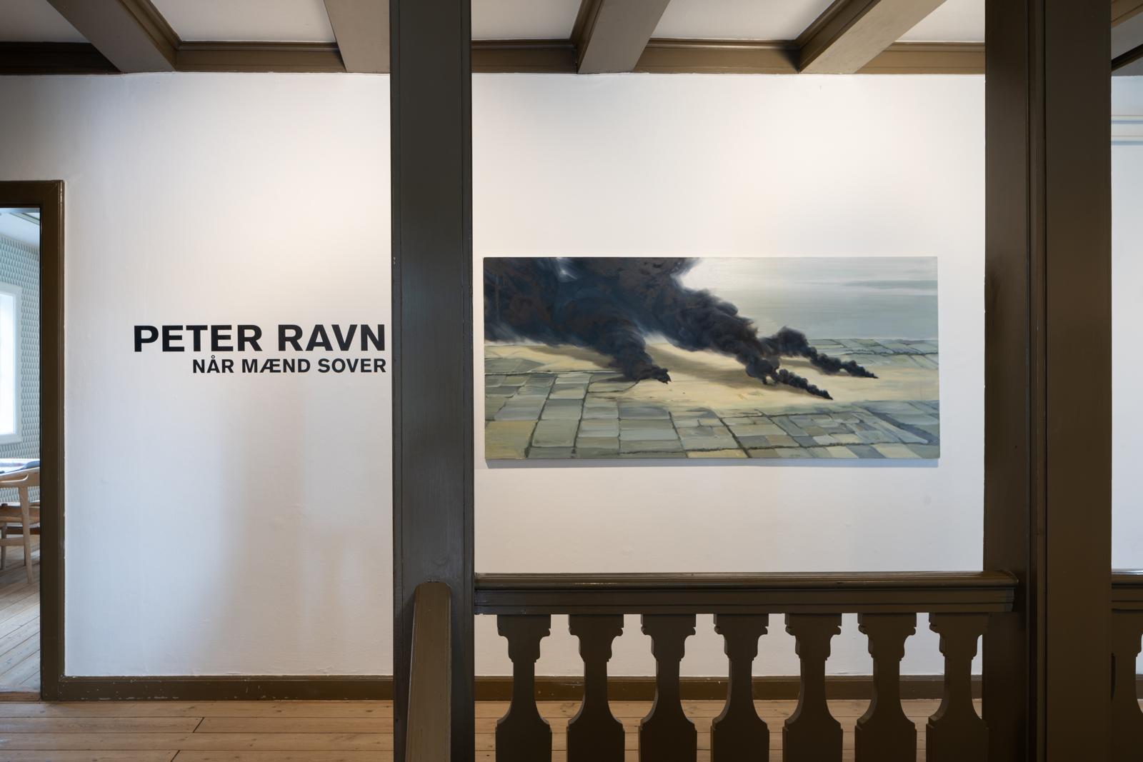 """Peter Ravn """"NÅR MÆND SOVER.� Foto: David Stjernholm."""