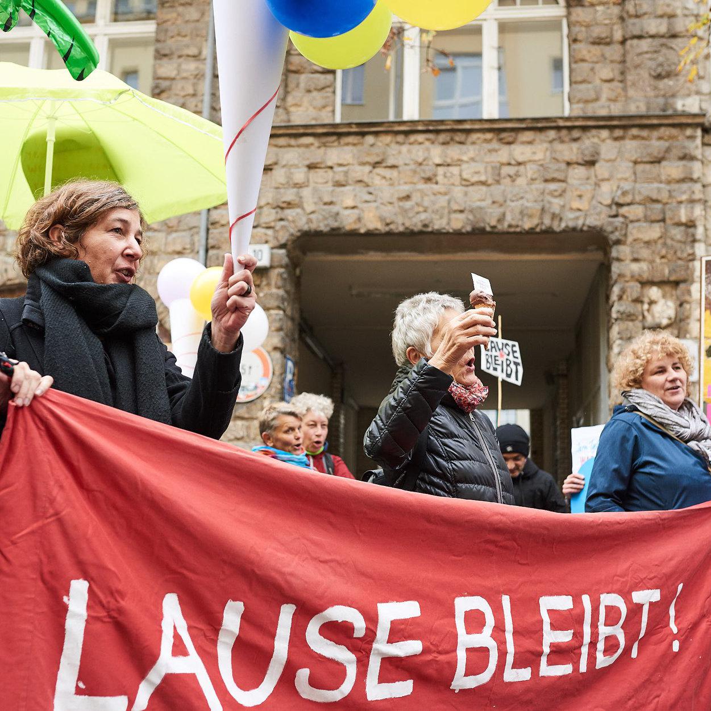 Eis-Parade. Fotos: Matthias Wehofsky.