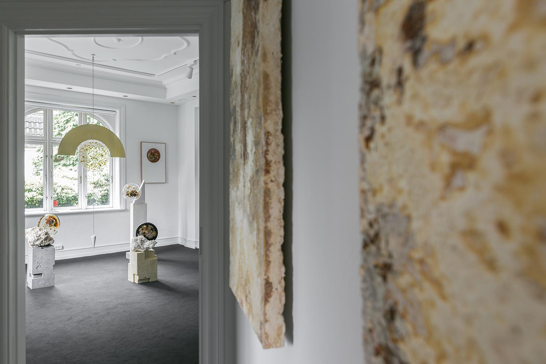 "Studio ThinkingHand ""Amongst Ruins"" (installation view)."