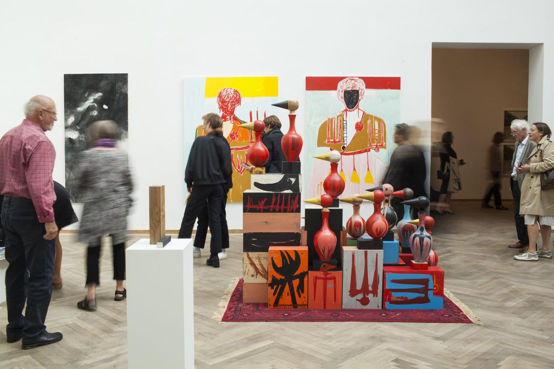 Chart Art Fair 2018. Andersens, Farshad Farzankia. Photo: Marcus Bjorn.