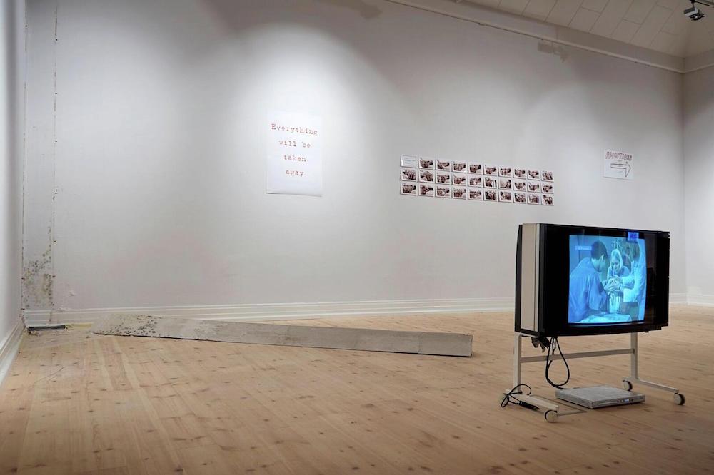 """Post Institutional Stress Disorder (PISD)� (installation view). Foto: Kåre Viemose."