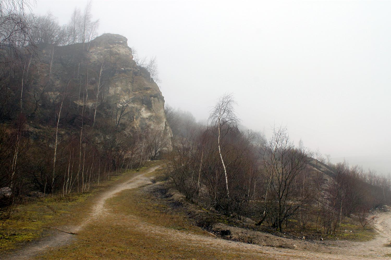 Faxe Kalkbrud (tåget). Foto: Rikke Ravn Sørensen.