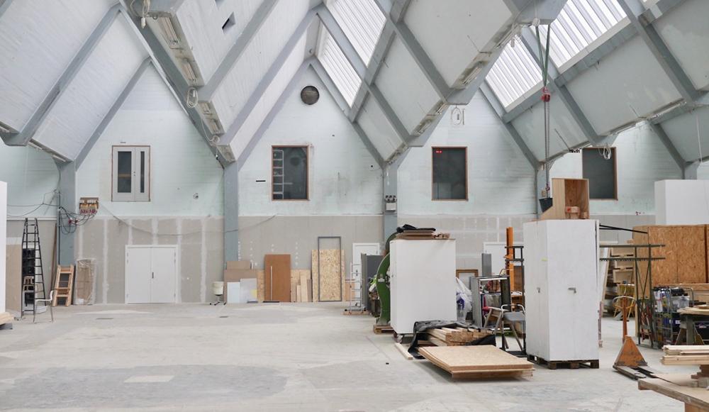 Fabrikken for Kunst og Design.