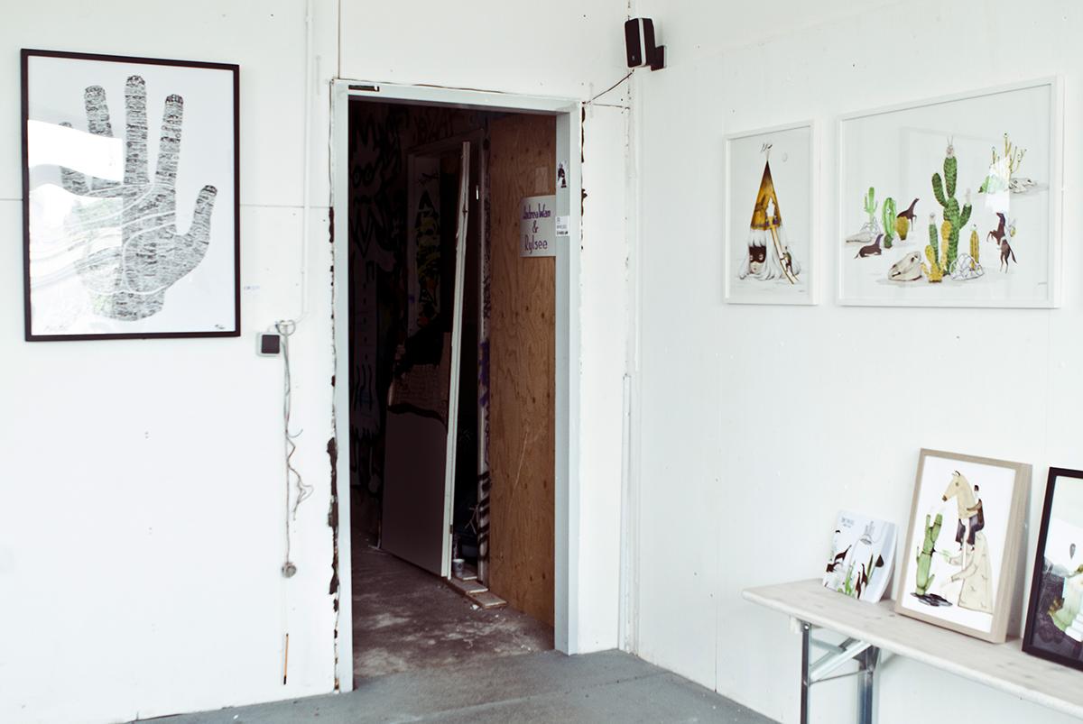 Andrea Wan & Rylsee's studio. Foto: I DO ART Agency.