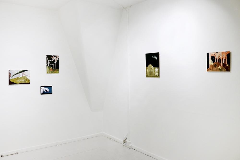 Luise Sejersen, Threshold spaces, 2018. Installation view.