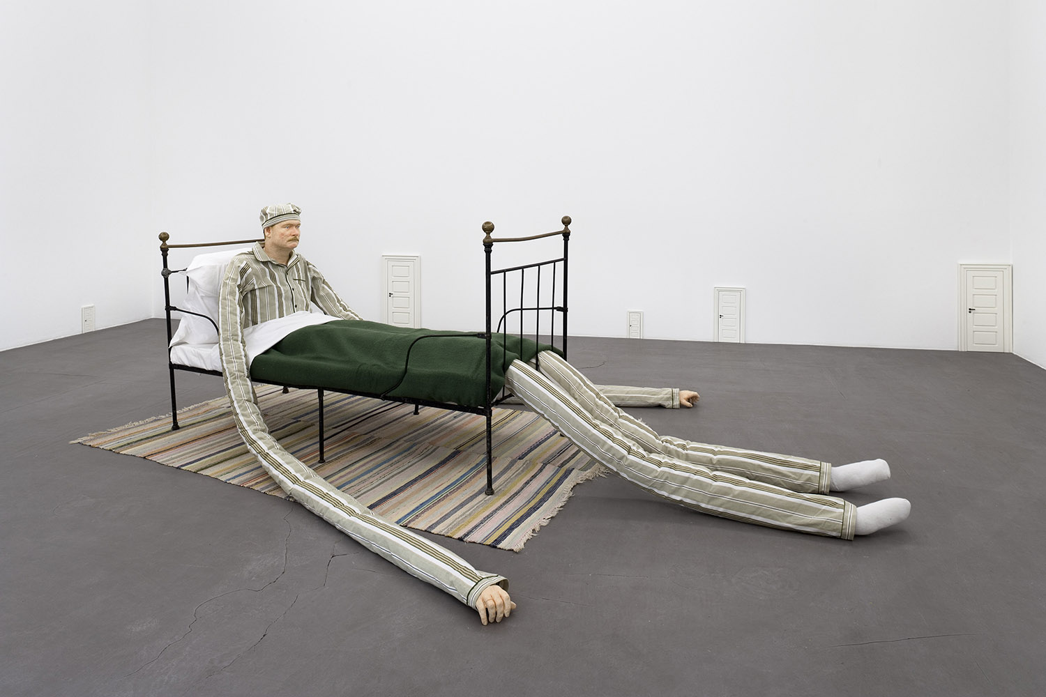 """Peter Land """"Man in Bed,"""" 2006."""