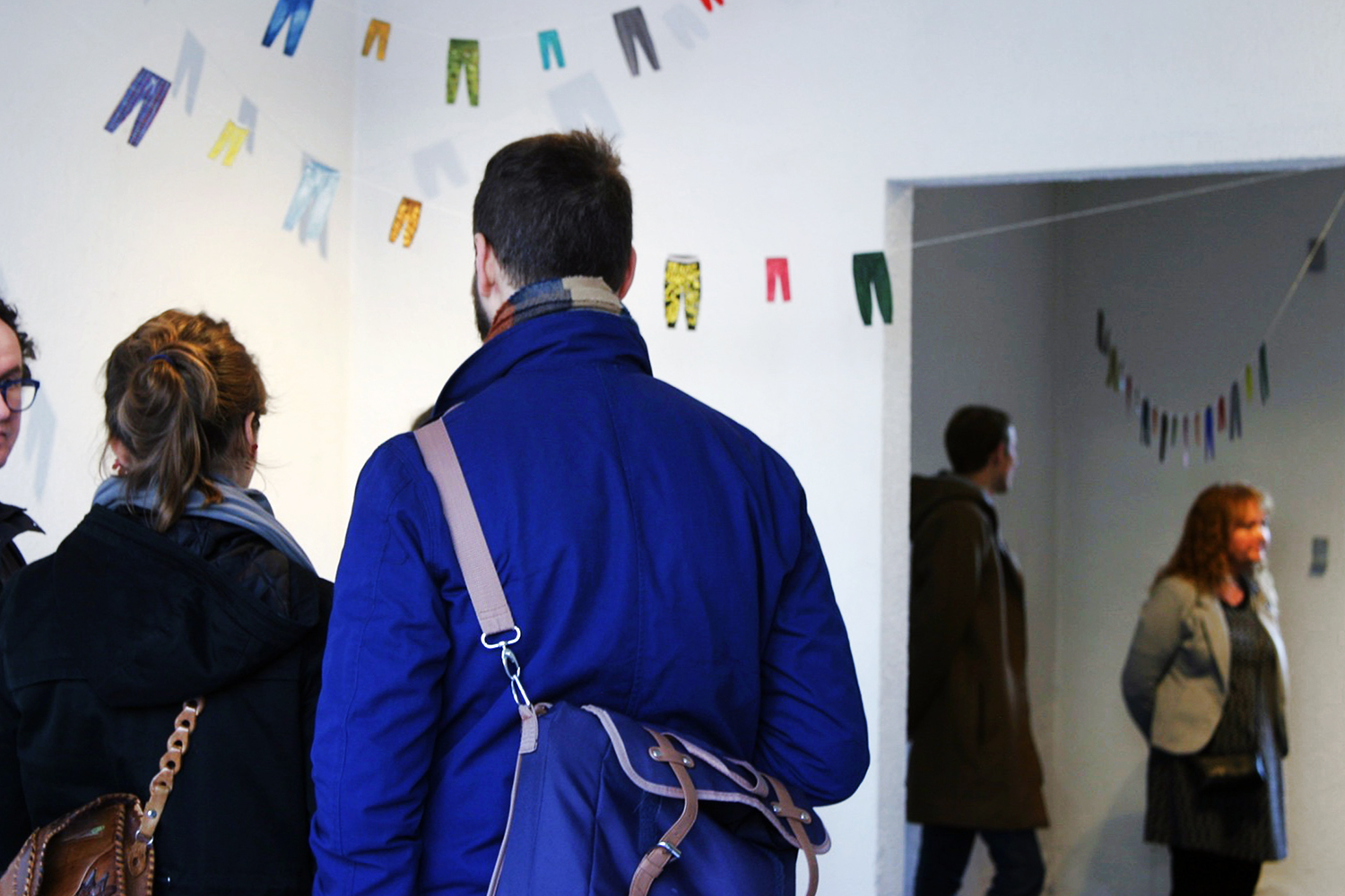 "Opening of ""We Don't Speak About Bird"" at Big Shark. Photo: Scott William Raby & Rikke Ehlers Nilsson."