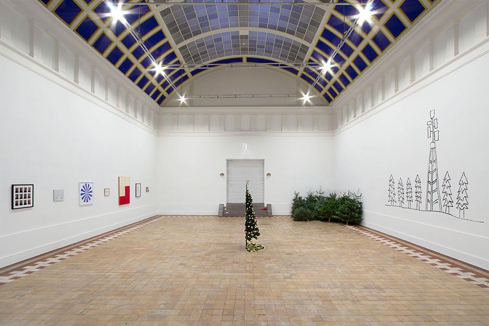 Det Fynske Kunstakademi, Sorgregn/Jubelsne i Skulptursalen.