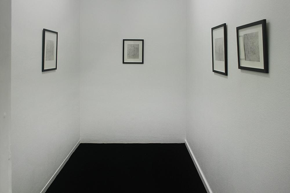 "Malou da Cunha Bang ""Manifestationer"" (installation view)."