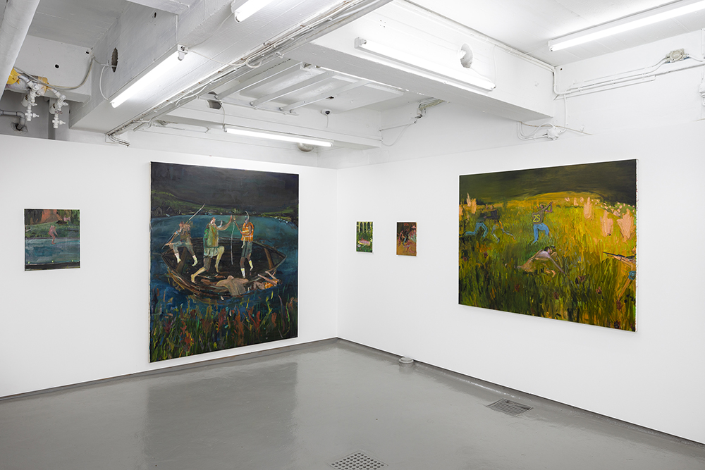 Grace Metzler, Installation view. Photo by Jan Søndergaard.