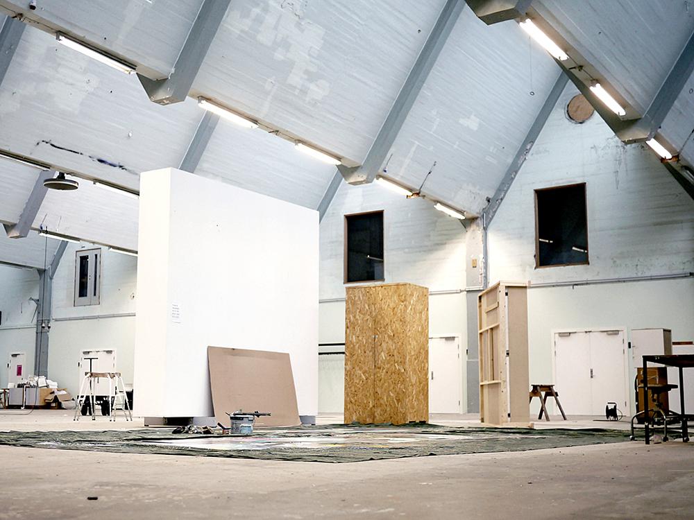 Fabrikken for Kunst og Design, Produktionshal.