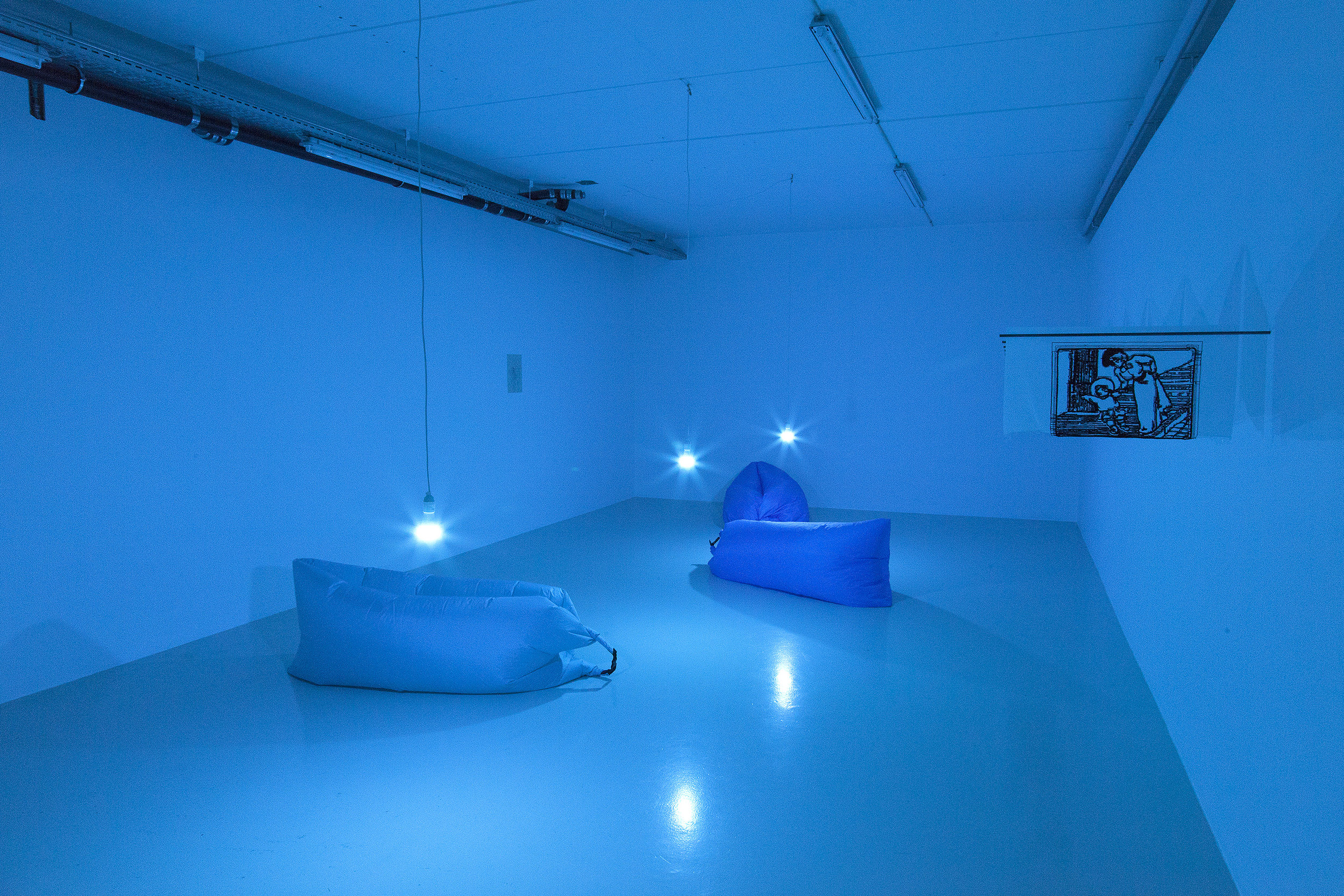 """Bubble Metropolis"" (installation view). Photo: Kevin Malcolm."