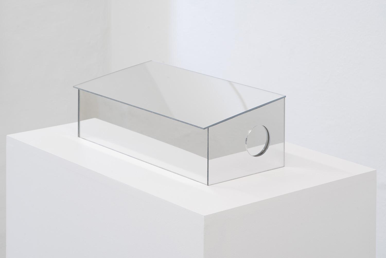 "Morten Knudsen ""Untitled,� 2019 (Plexiglass. 38,5 x 19 x 13 cm). Photo by Brian Kure."