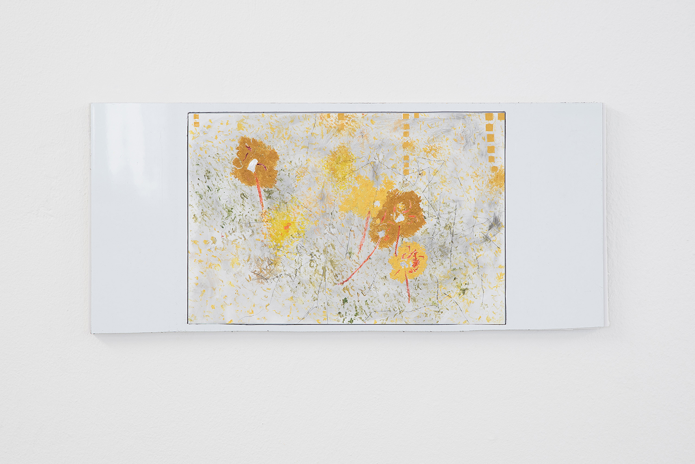 "Morten Knudsen ""Untitled,� 2019 (Oil, pencil, paper, aluminum, Dibond, foam boar. 49 x 22 cm). Photo by Brian Kure."