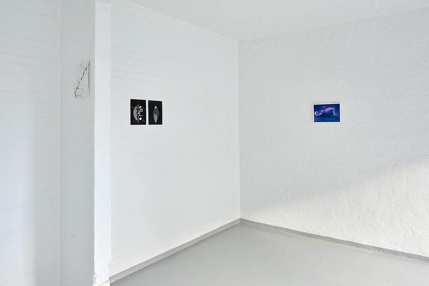 "Kah Bee Chow & Moa Alskog ""Early Spring"" (installation view). Foto: Kirstine Mengel."