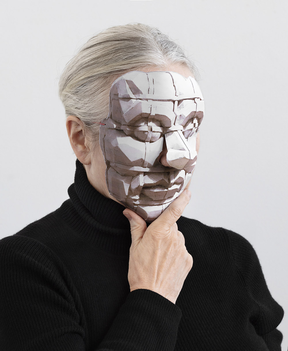 Jytte Høy, Face to Face, 2019. Foto: Dorte Krogh.