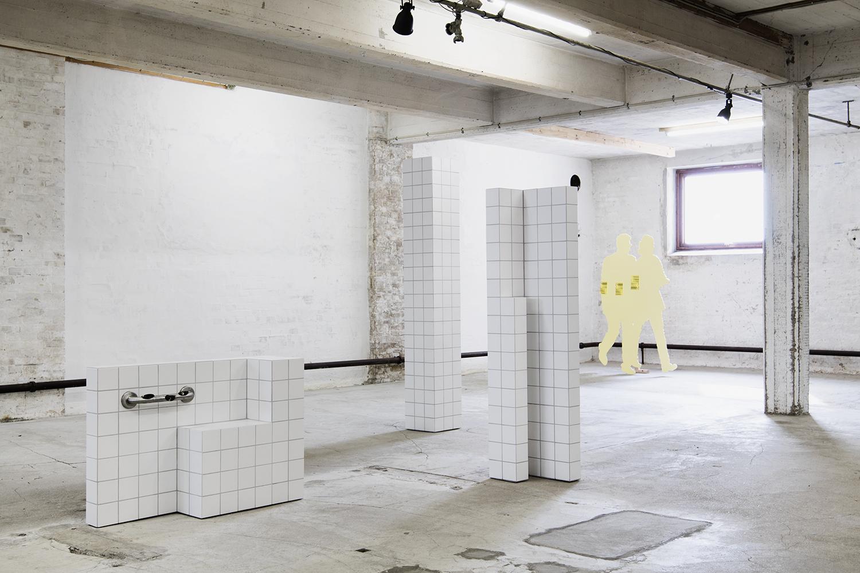 """Peter Olsen, Mathias Sæderup og Thomas Bo Østergaard """"Som om landskabet er noget derude."""" Foto: I DO ART Agency."""