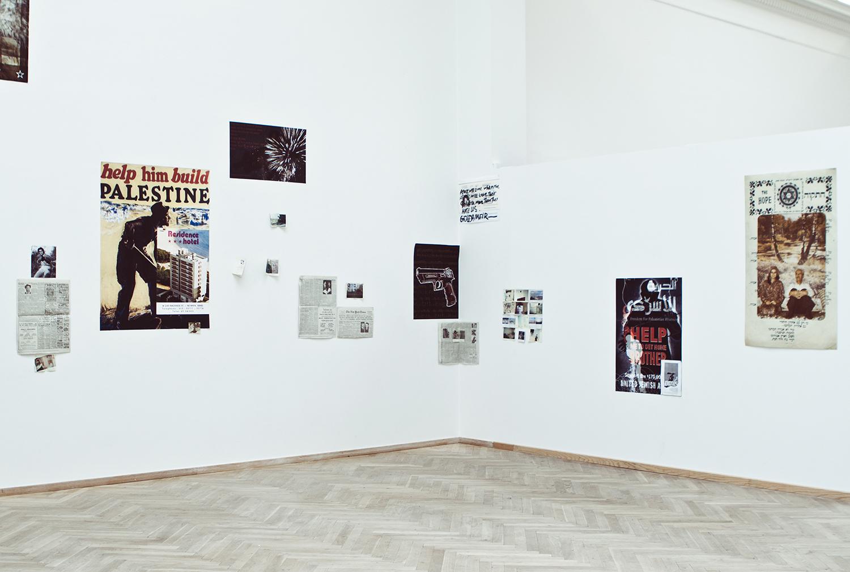 "Farid Salti, ""Ånden i blodet, vi vil forløse dig Palæstina"", 2013. Foto: I DO ART Agency."