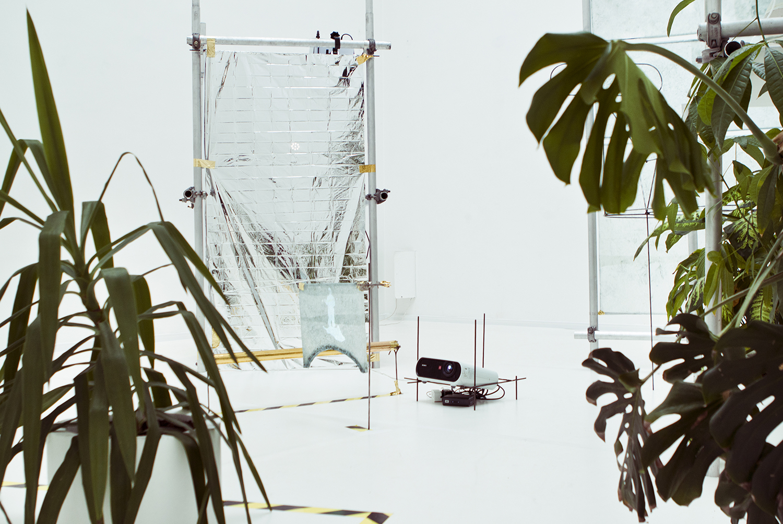 "Andreas Rasmussen og Kristian Byskov Rasmussen, ""BUBOS - biotopisk testrum"", 2013. Foto: I DO ART Agency."
