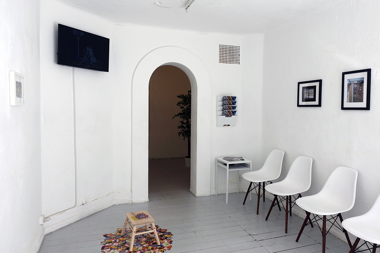 "Nathan Gulick ""Waiting Room."" Foto: Rikke Ehlers Nilsson."