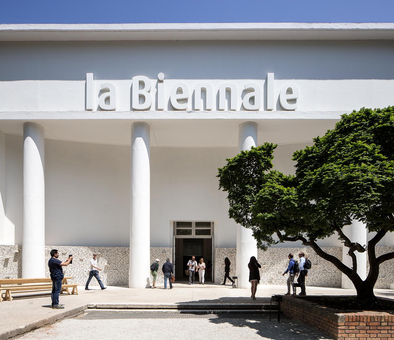 Padiglione Centrale Giardini. Photo: Francesco Galli, courtesy of La Biennale di Venezia.