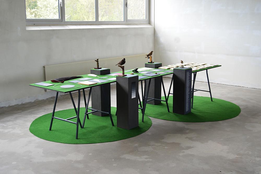 Installationsfoto. Foto: Kamilla Jørgensen.