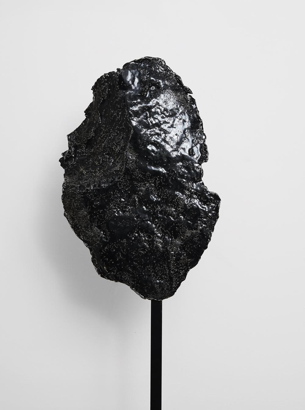 Morten K Jacobsen. Black Mountain (vertical). 2019.
