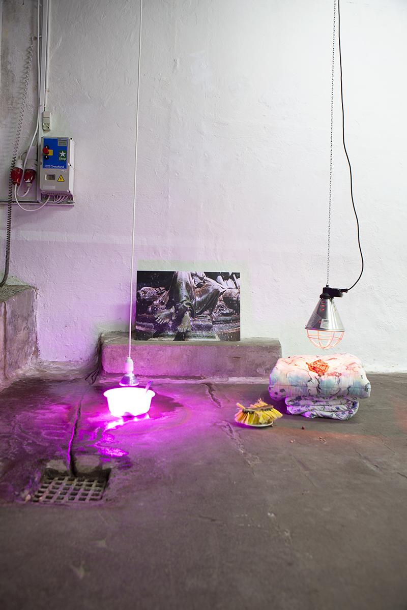 """Anne Dyhr """"Til en lejlighed / Settlement,� 2017-2019, OK Corral.  Foto: Tomas Skovgaard."""