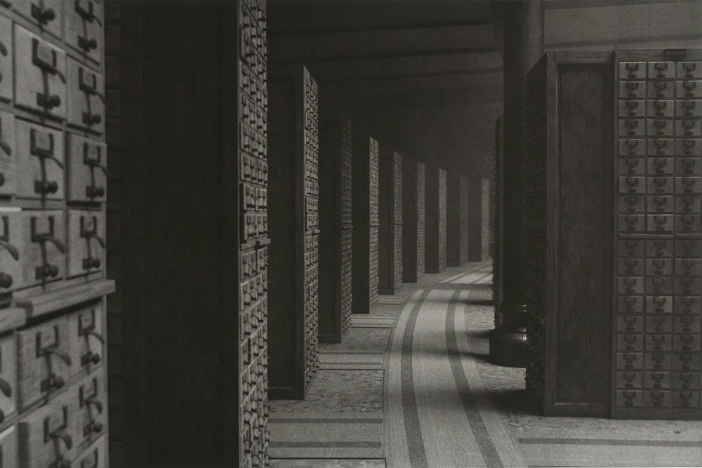 Fiona Tan, Shadow Archive V, 2019. (Fotogravure, 78 x 100 cm). BORCH Editions.