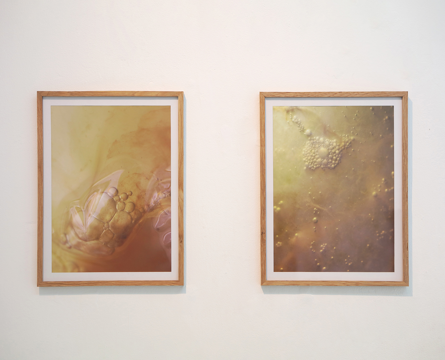 """Studio ThinkingHand """"Becomming, connecting, flowing, transforming 1 & 2.�  Photo: Emily Petersen."""