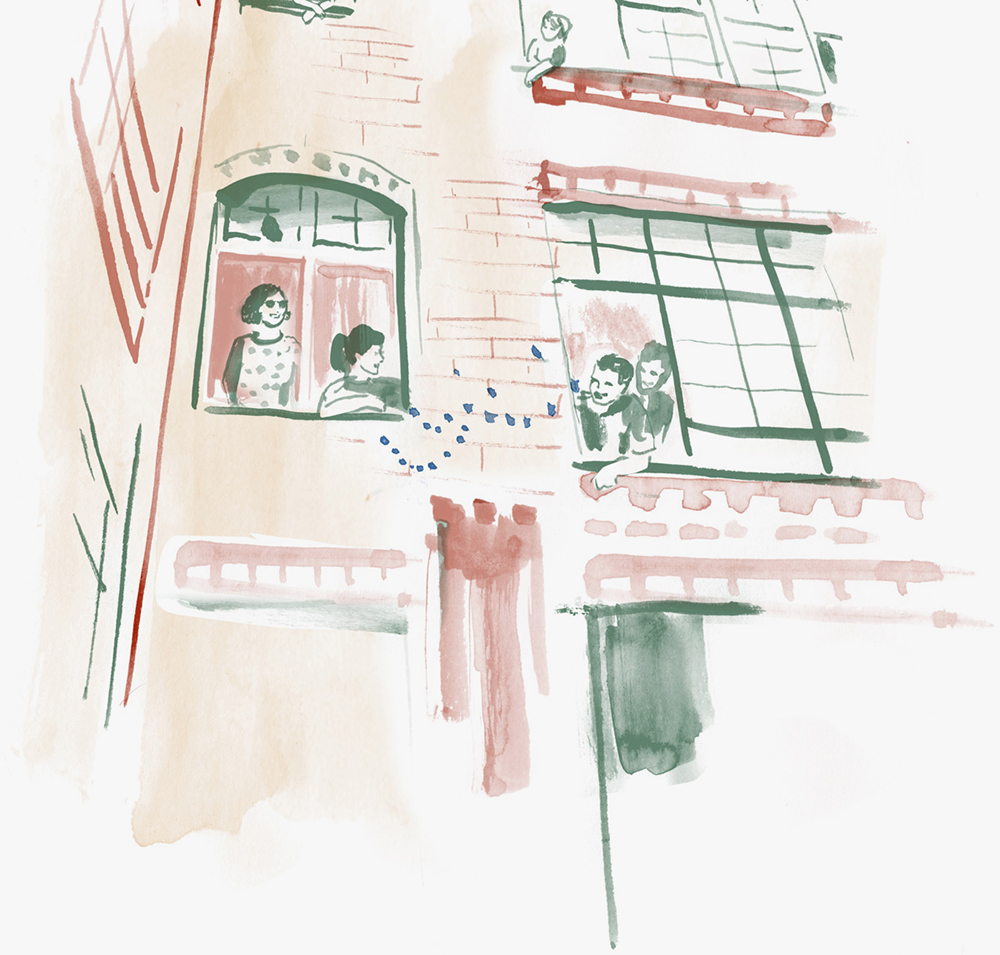 Illustration: Lause Bleibt.