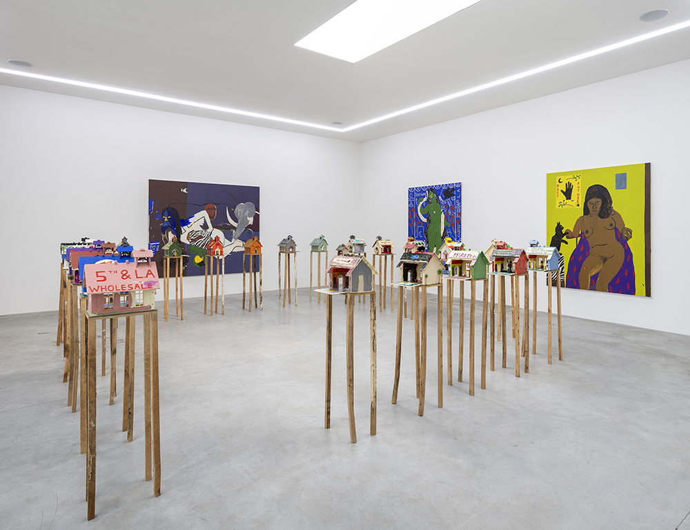 Danny Fox, Doped, Roped and Horoscoped, 2019. Installation view. Photo: Jan Søndergaard.