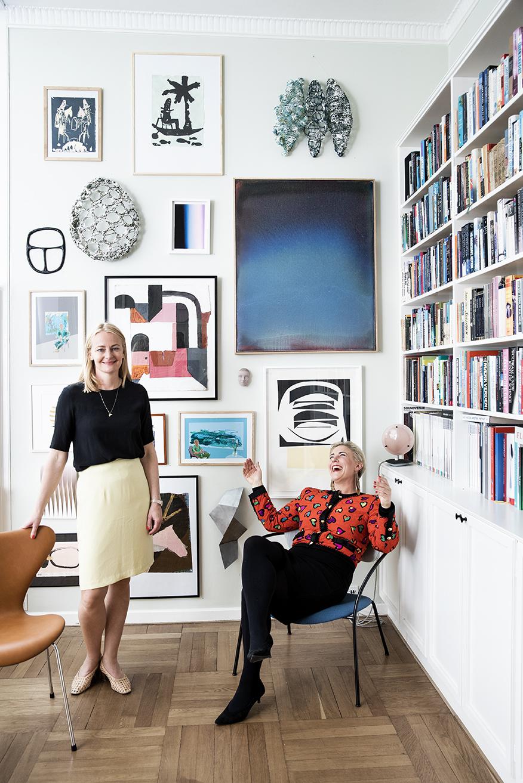 Anne Aarsland og Mette Helena Rasmussen.  Foto: Tia Borgsmidt.