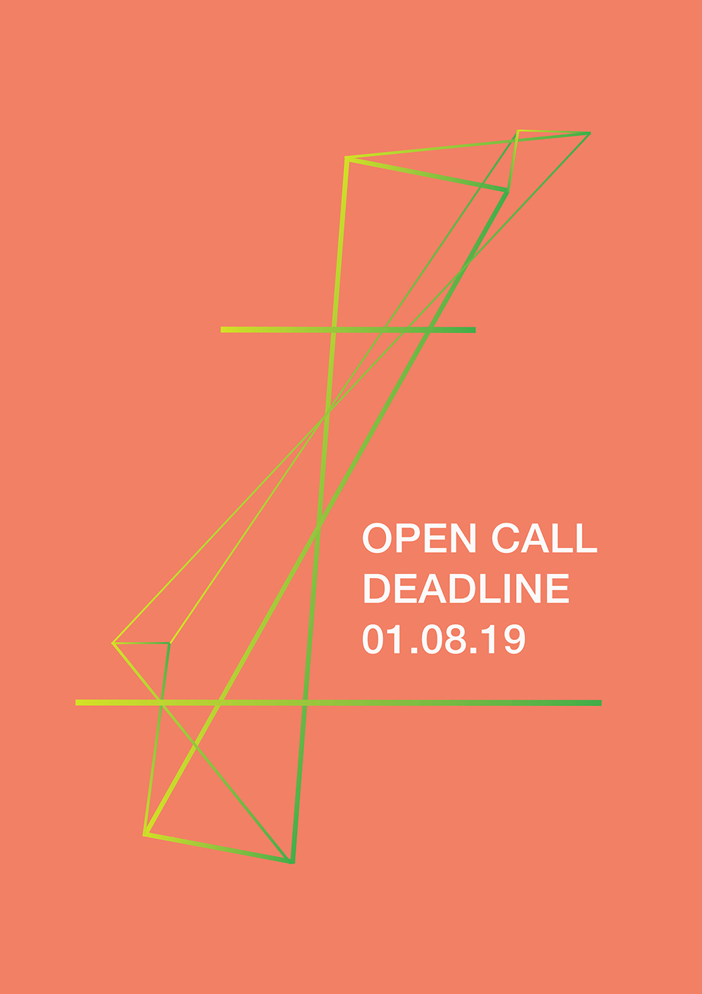 open call poster