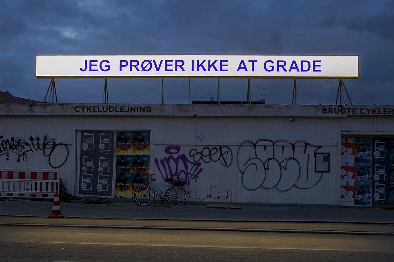 """Gudrun Hasle """"Jeg prøver ikke at grade.� Foto: RoofTop."""