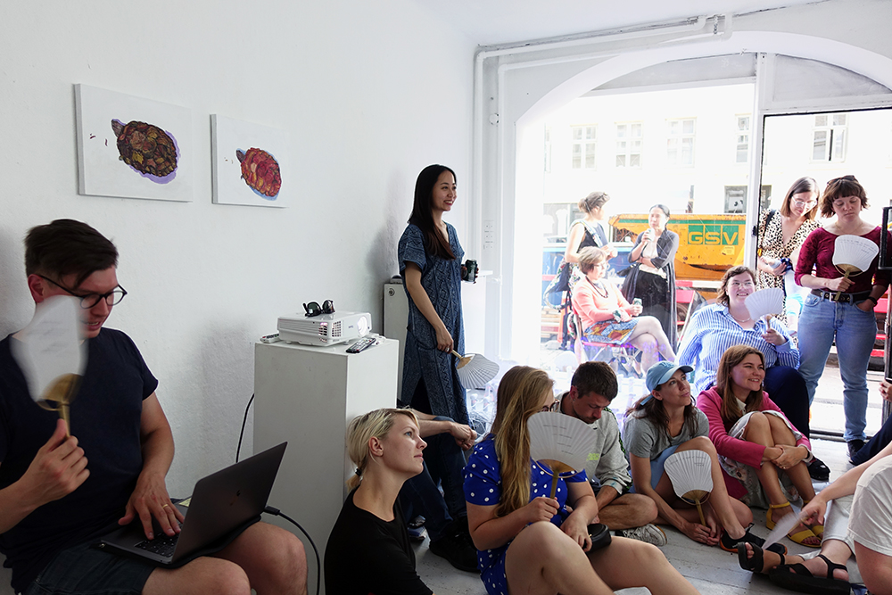 Performative Lecture by Scott William Raby. Photo: Rikke Ehlers Nilsson.