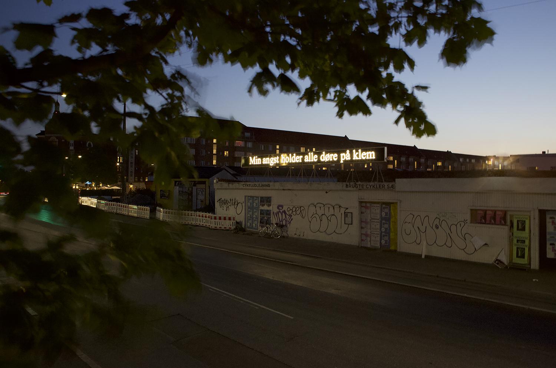 """Kaspar Bonnén """"Min angst holder alle døre på klem.� Foto: RoofTop."""