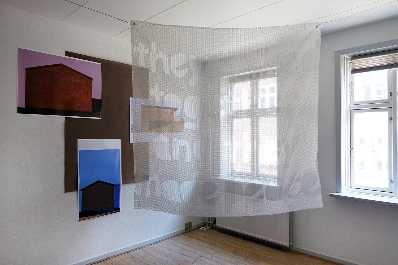 """""""Thrills"""" (installation view). Foto: Rikke Ehlers Nilsson."""