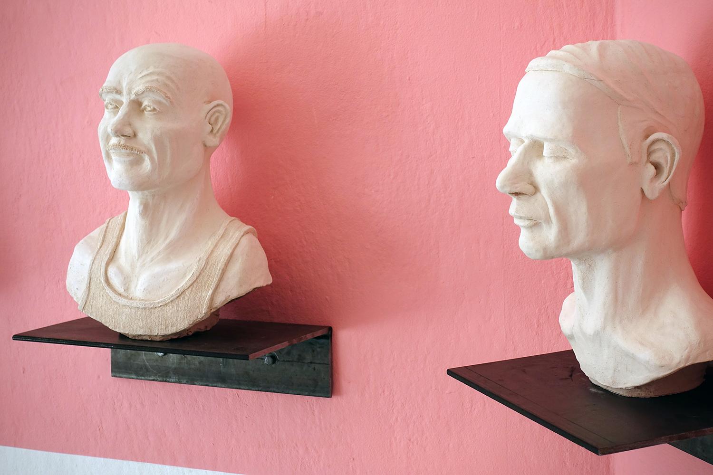 """Niels Pugholm """"Karaktères."""" Foto: Rikke Ehlers Nilsson."""