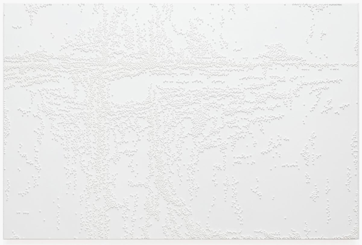 "Rieko Hotta ""Hours 430 am,� 2018 (Oil on canvas, 100 x 150 cm). Photo: Marie Kirkegaard Gallery."
