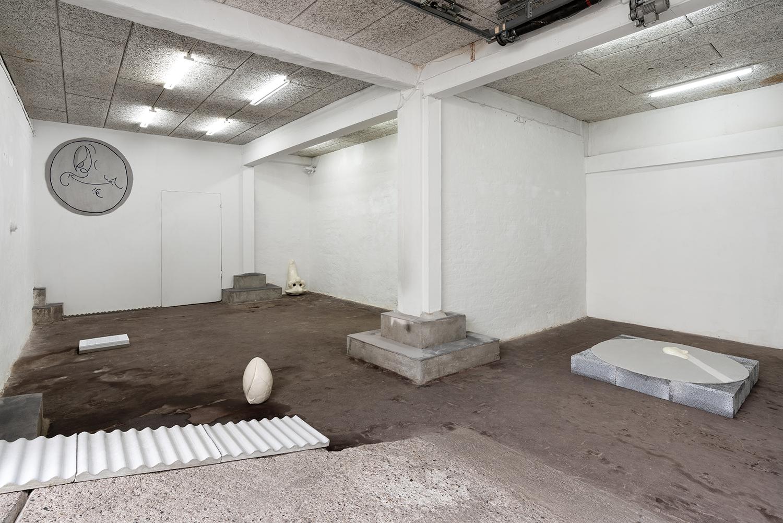 "Martha Hviid ""Self-Soother,� 2019 (Installation view). Photo: David Stjernholm."