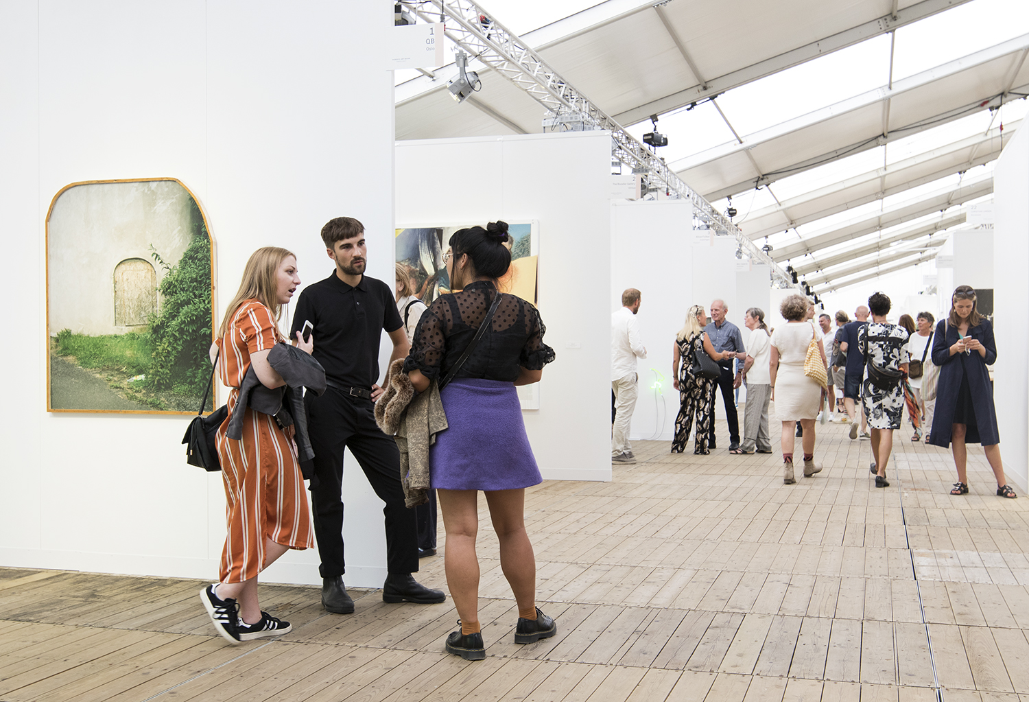 Enter Art Fair 2019. Foto © I DO ART Agency.