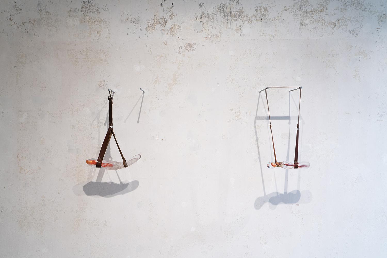"Maria Koshenkova ""DeviantO 1 & 2,� 2019. Photo: SIRIN Gallery."