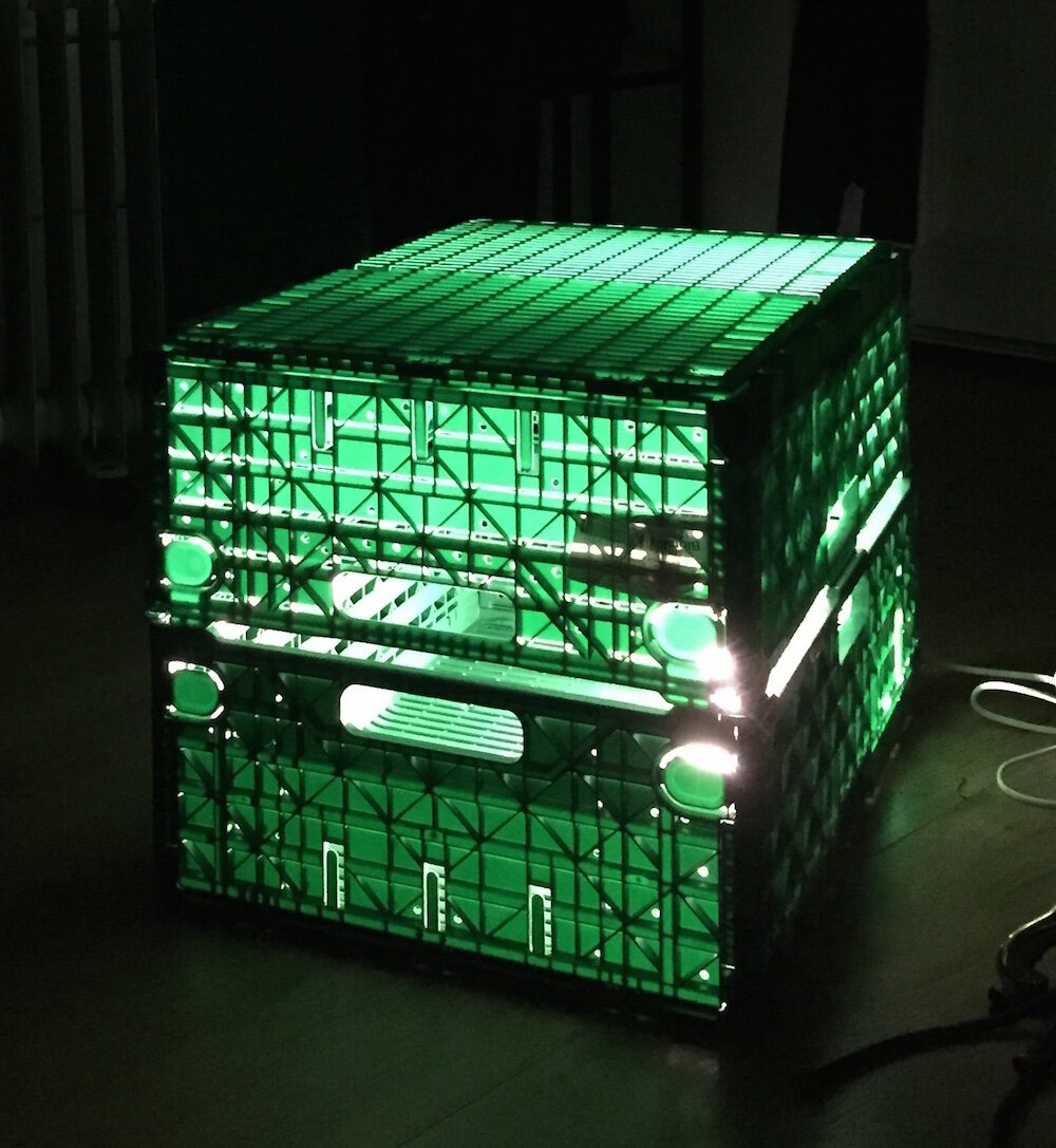 "Ingrid Bjørnseth ""Green Box."""