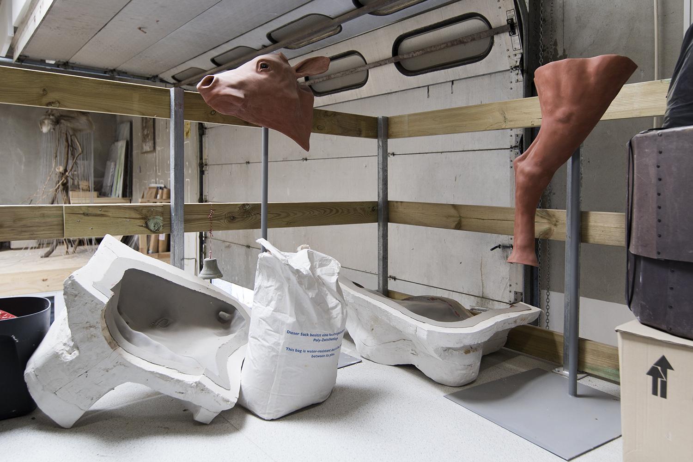 Viktor-Emil Dupont Billunds atelier. Foto © I DO ART Agency.