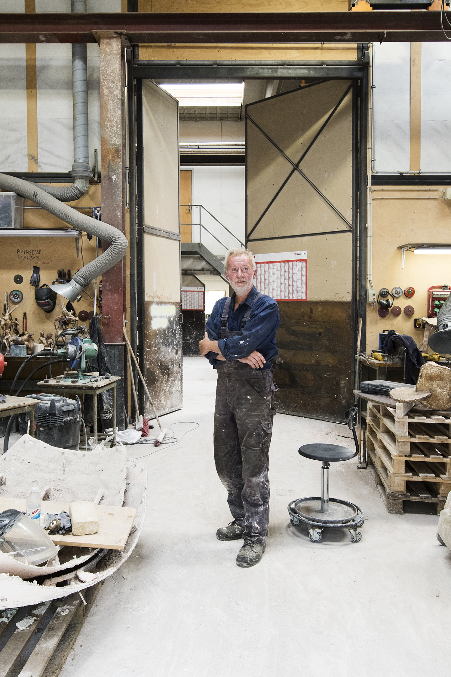 Peter Jensen i Broncestøberiet. Foto © I DO ART Agency.