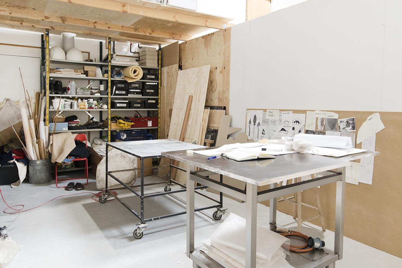 Marie Bonfils' atelier. Foto © I DO ART Agency.