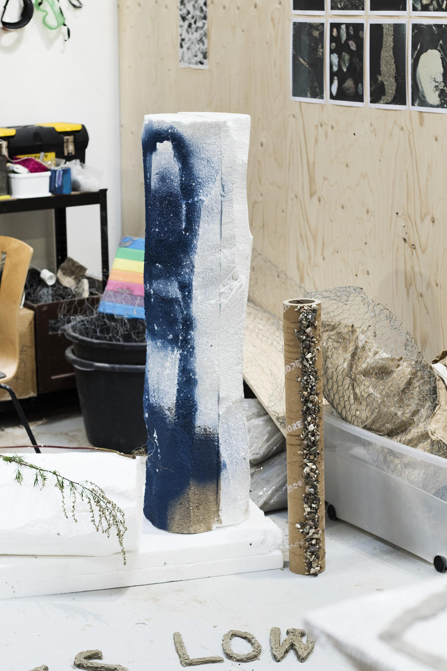 Regitze Engelsborg Karlsens atelier. Foto © I DO ART Agency.