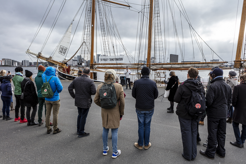 Sailing Ceremony, Departure, Schooner MAJA. Photo: Niels Fabæk.